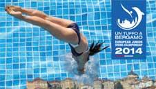 Campionati giovanili di tuffi Bergamo 2014